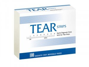Tear Strips (Tear Flo) Тест-полоски Ширмера Contacare, Индия